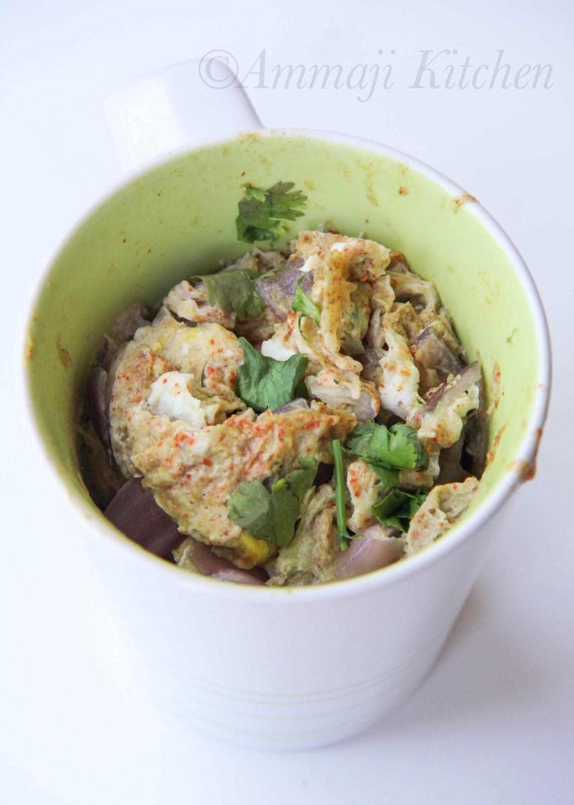 Omelette in Mug