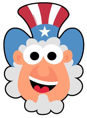 FREE Uncle Sam Mask