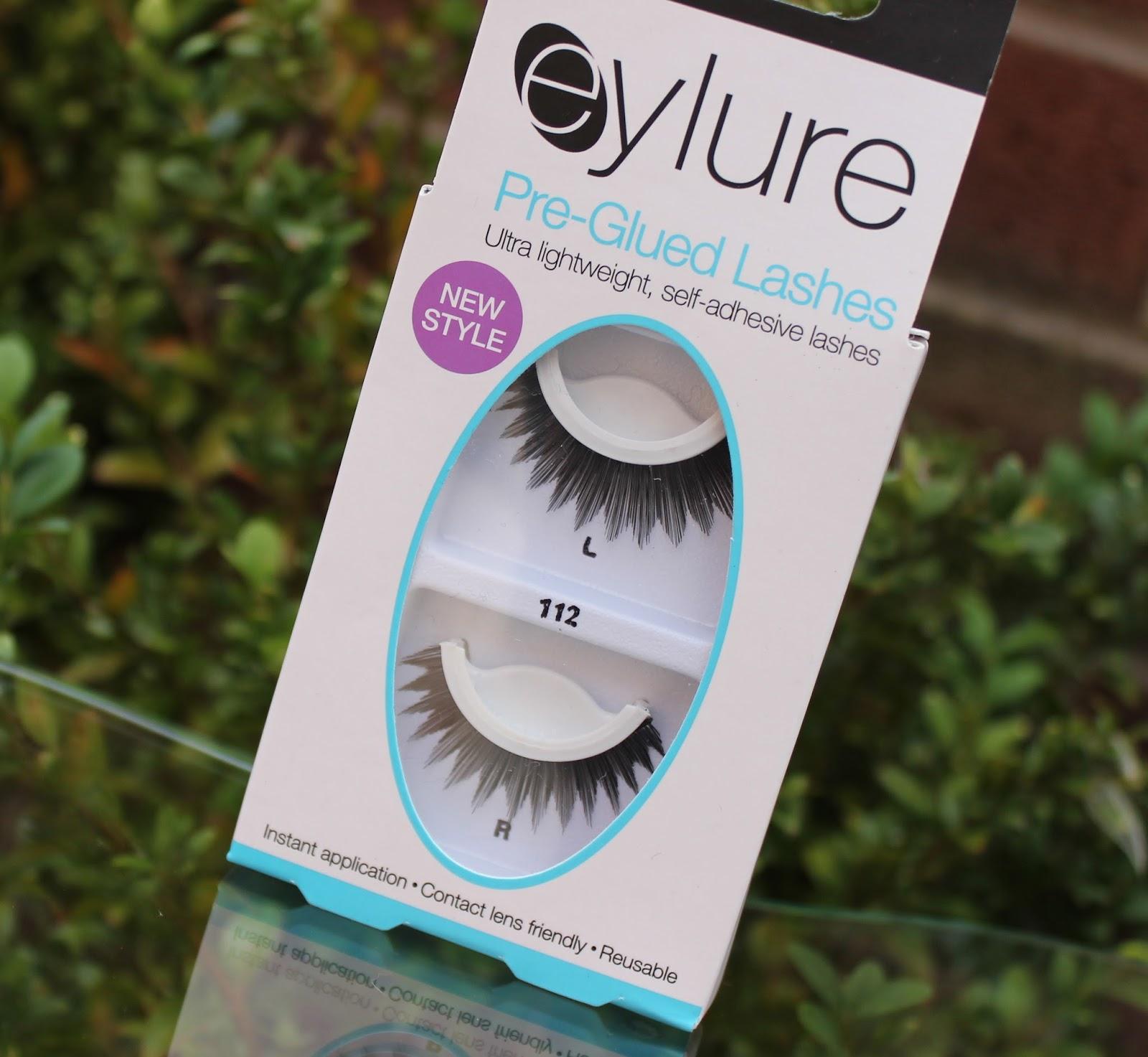 Review Eylure Pre Glued Lashes 112 Through Chelseas Eyes