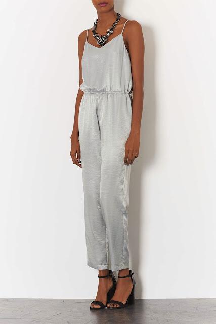silver jumpsuit