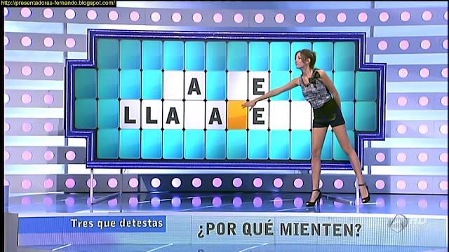 Paloma Lopez piernas