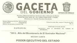 Gaceta del Gobierno del Estado de México