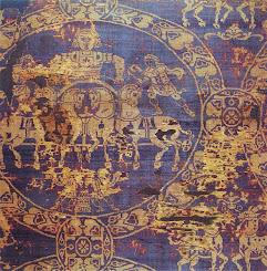 Charlemagne's Death Shroud