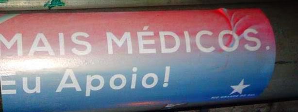 Apoio a Campanha Mais Médicos