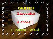 SORTEO DE XAROCHITA POR SUS 3 AÑOS