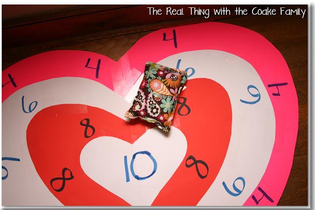 Valentine's Bean Bag Toss