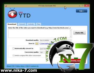 YTD Video Downloader PRO v4.4.0.3 Full Version