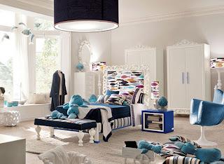 Dormitorio estilo naútico