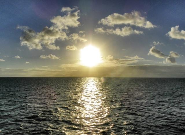 Atardecer en la Gran Barrera de Coral australiana