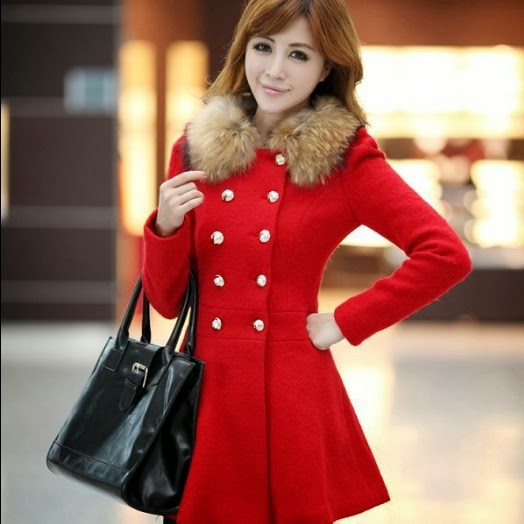 Fashion Japanese Style Slim Long Sleeves Double-breasted Korean Trench Coat