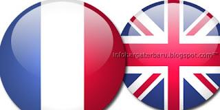 Skor Akhir Cuplikan Gol Prancis vs Inggris | Senin 11 Juni 2012 Tadi Malam