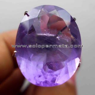 Batu Permata | Natural Amethyst Quartz Asli | Kecubung