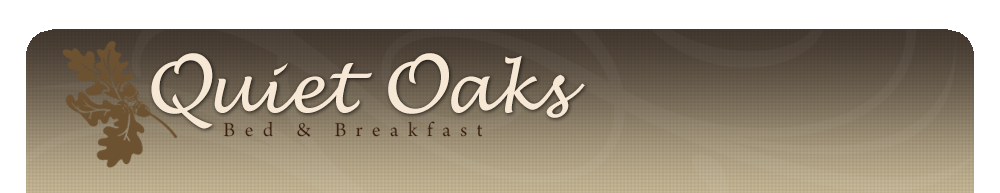 Quiet Oaks B&B Blog