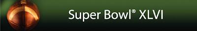 Super Bowl XLVI banner.