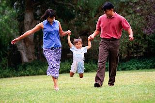 pai, mãe e filho