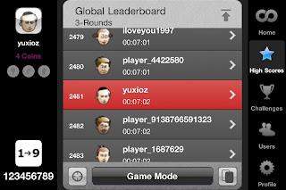 1 round record
