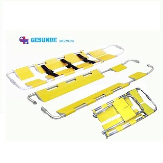 Scoop Stretcher YDC-4B Yellow