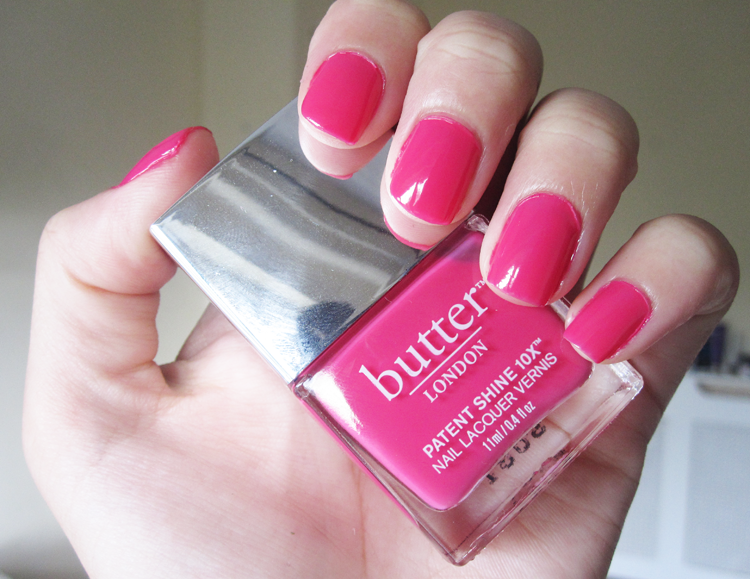 Butter London Patent Shine 10x Nail Lacquers in Flusher Blusher