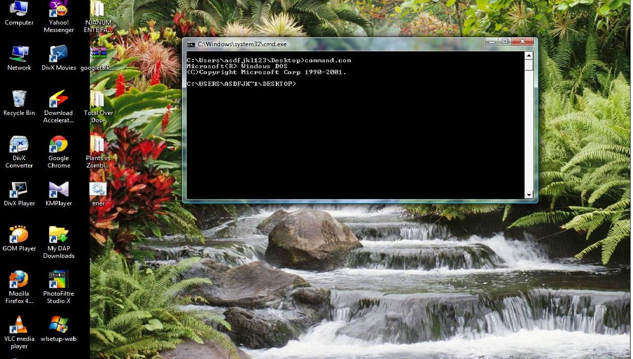 how to run command prompt