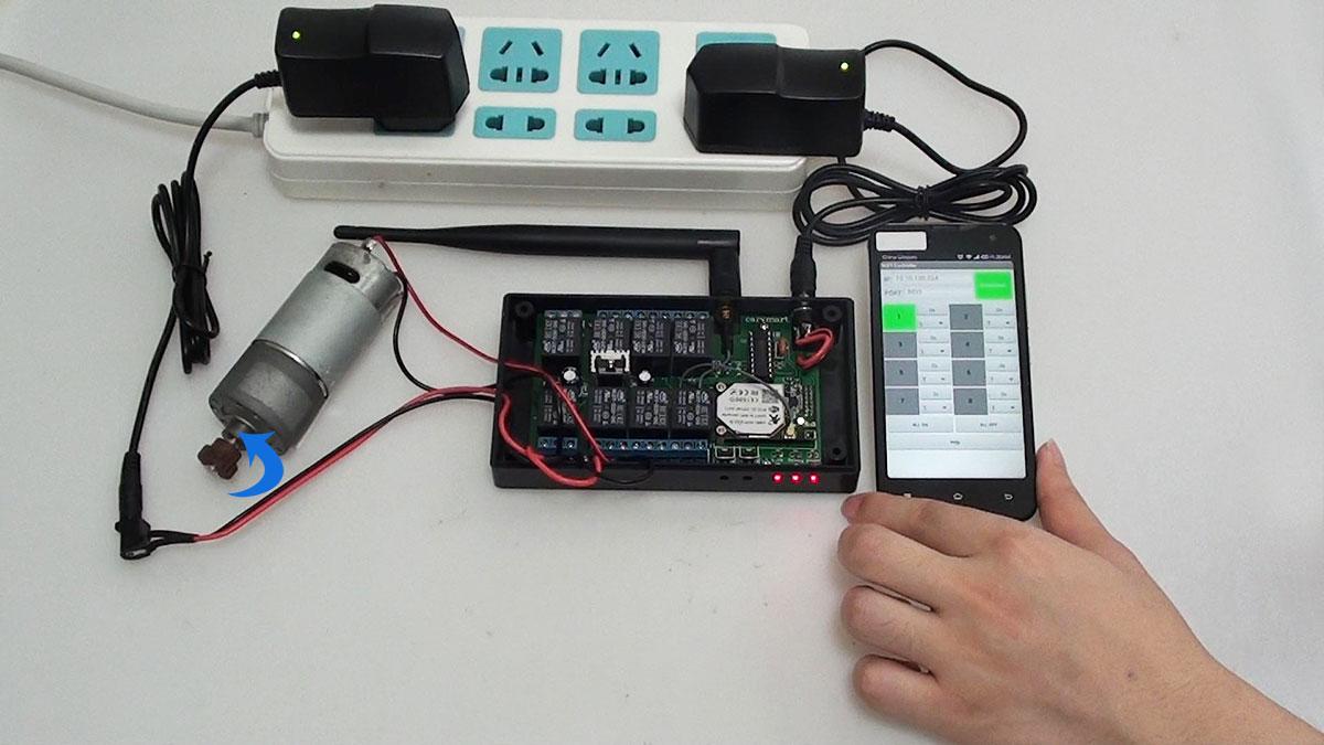 uitiliser un kit commande radio avec t l commande sans fil pour contr ler quipement sans fil. Black Bedroom Furniture Sets. Home Design Ideas