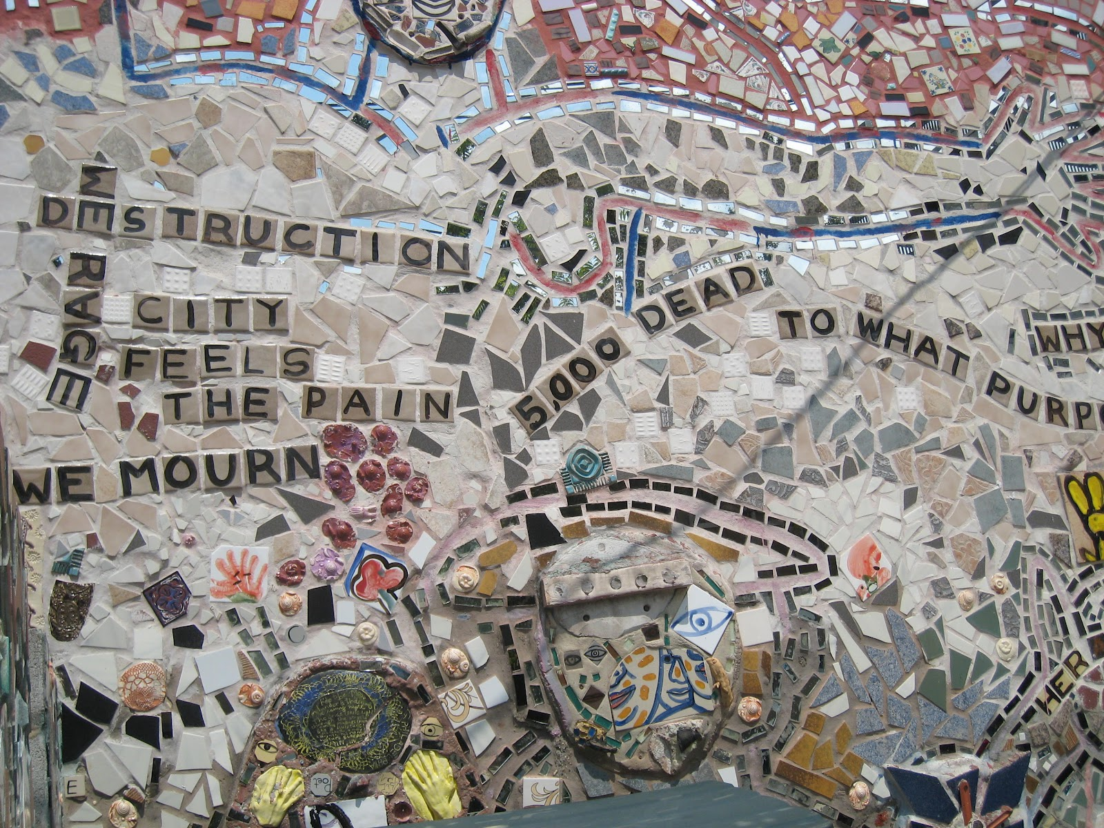 Spam Is Better Fried Mosaic of Life Philadelphia Magic Gardens