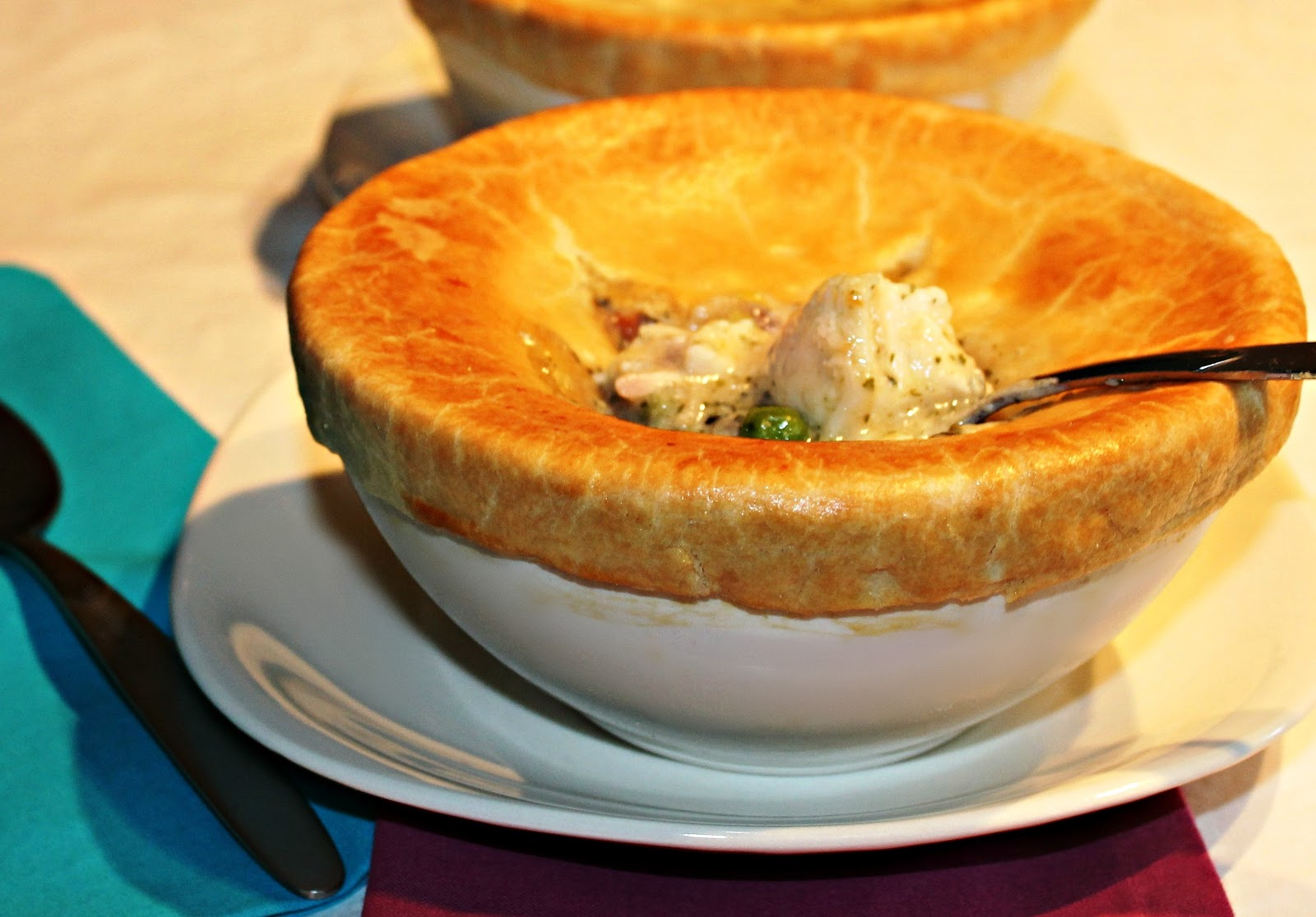 scallop pot pie scallop pot pie with lobster lobster scallop ...