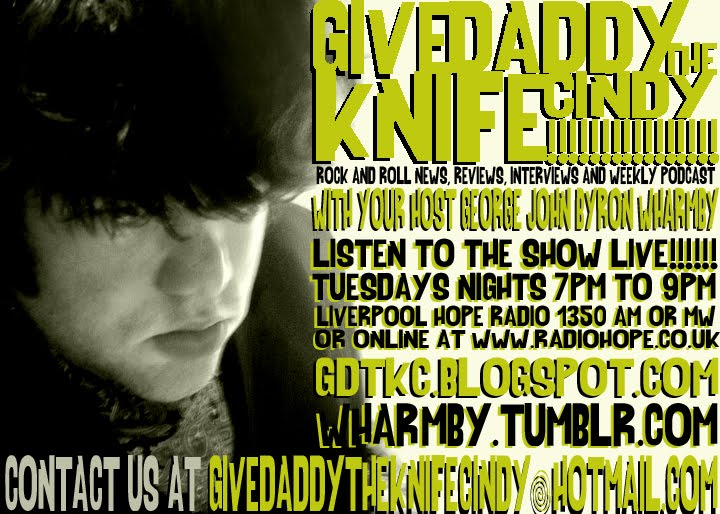 Give Daddy The Knife Cindy! Rock and Roll Talk