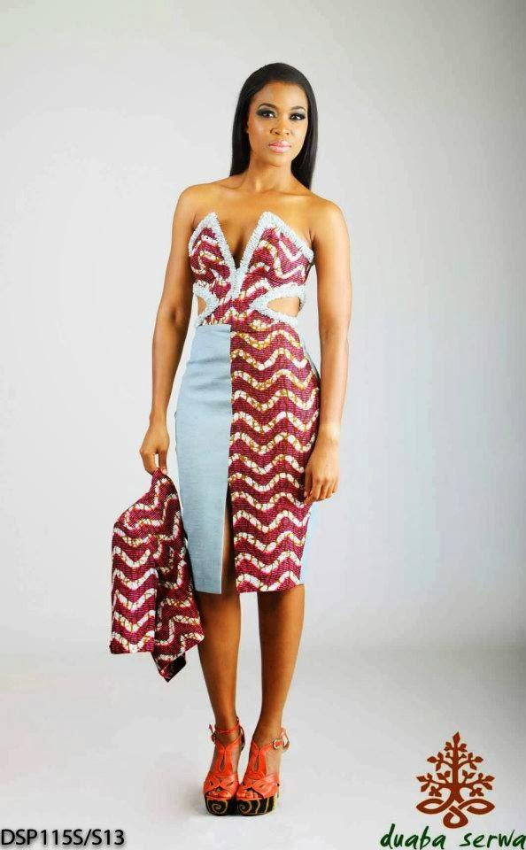 Modeling: Les pagnes africains a la mode