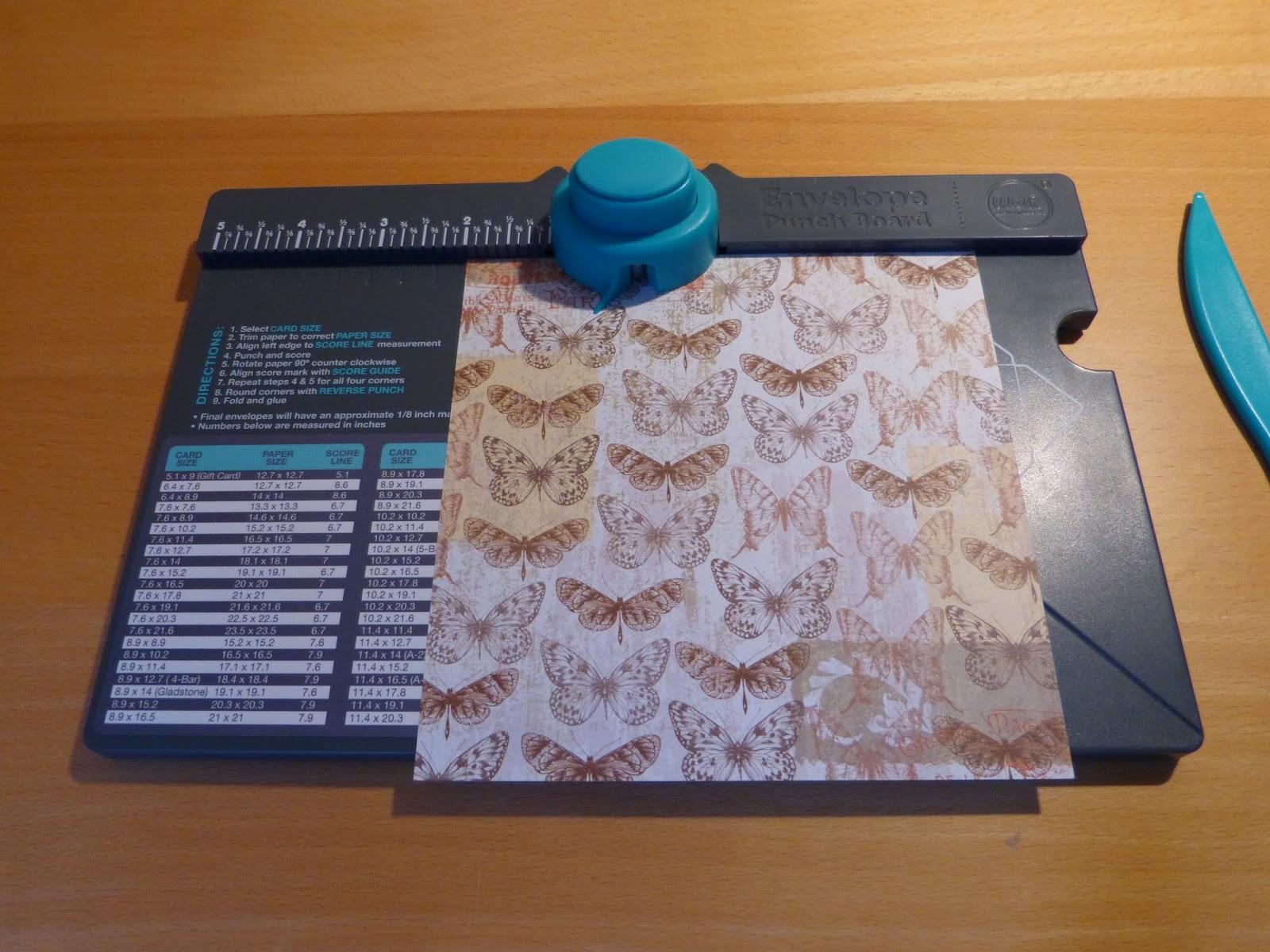 Un super outil l 39 envelope punch board tuto complet en for Ou acheter une boite a couture