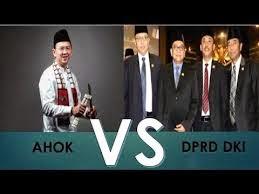 AHOK vs DRPD Jakarta