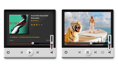 Music & Video Players (PSD)