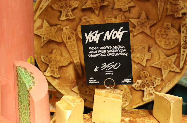 A Lush Yog Nog Soap review