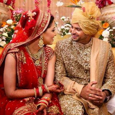 Indian Cricketer Suresh Raina Priyanka Chaudhary marriage