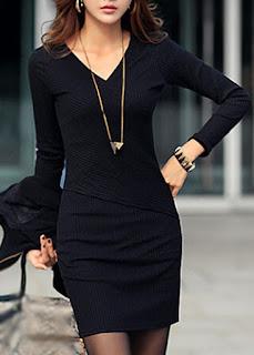 Vestidos, Color y Corte Equilibrio Perfecto.