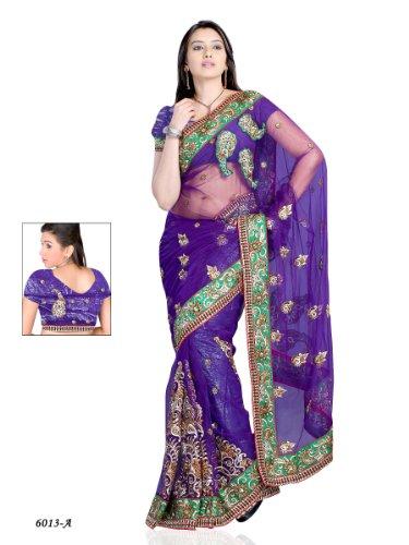 violet colour blouse