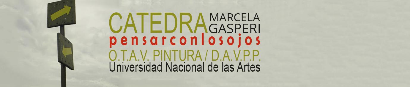 CATEDRA Marcela Gasperi