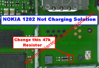 Nokia 1202 Not Charging / Charging Ways / Charger Not Supported Problem - Solution