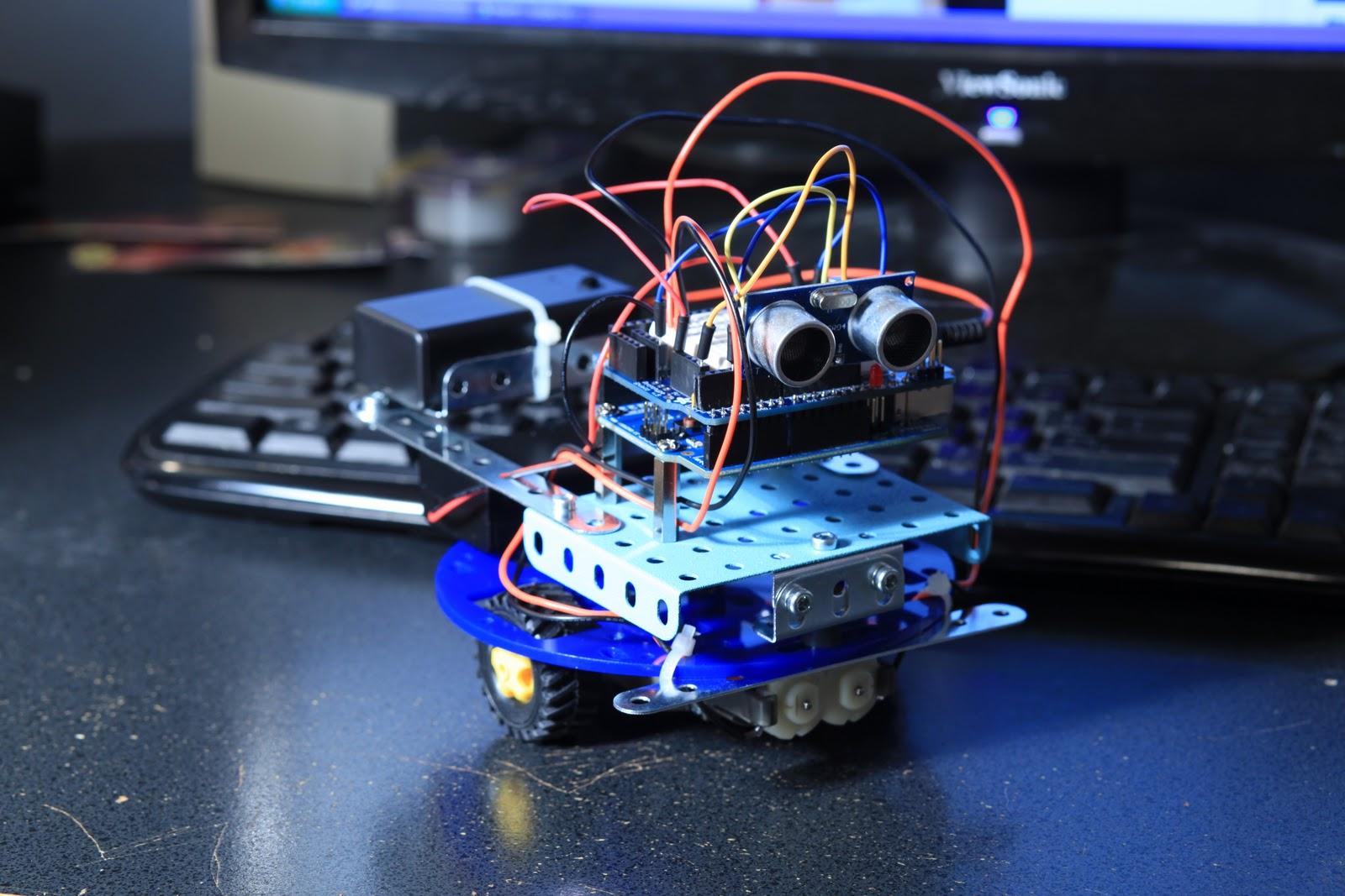 Как сделать из arduino робота 679