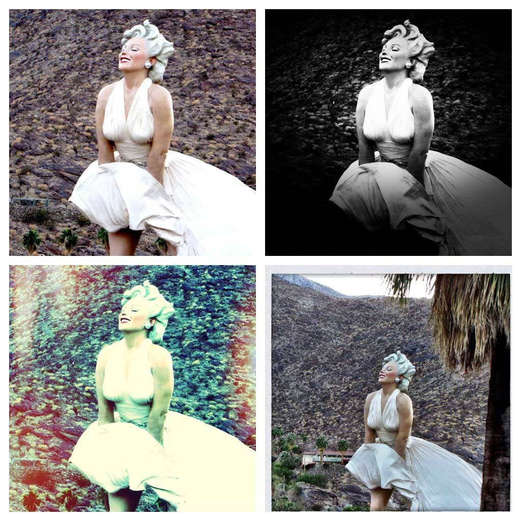 Expression studio marilyn in palm springs for Marilyn monroe palm springs home