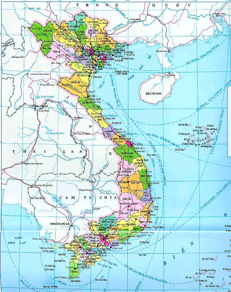 Da Nang Map - Vietnam Maps
