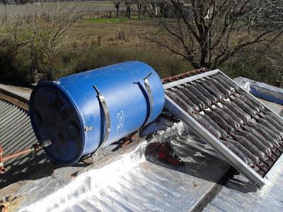 calefaccion solar casera