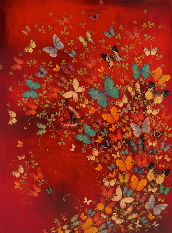 Butterflies: Paintings by Lily Greenwood