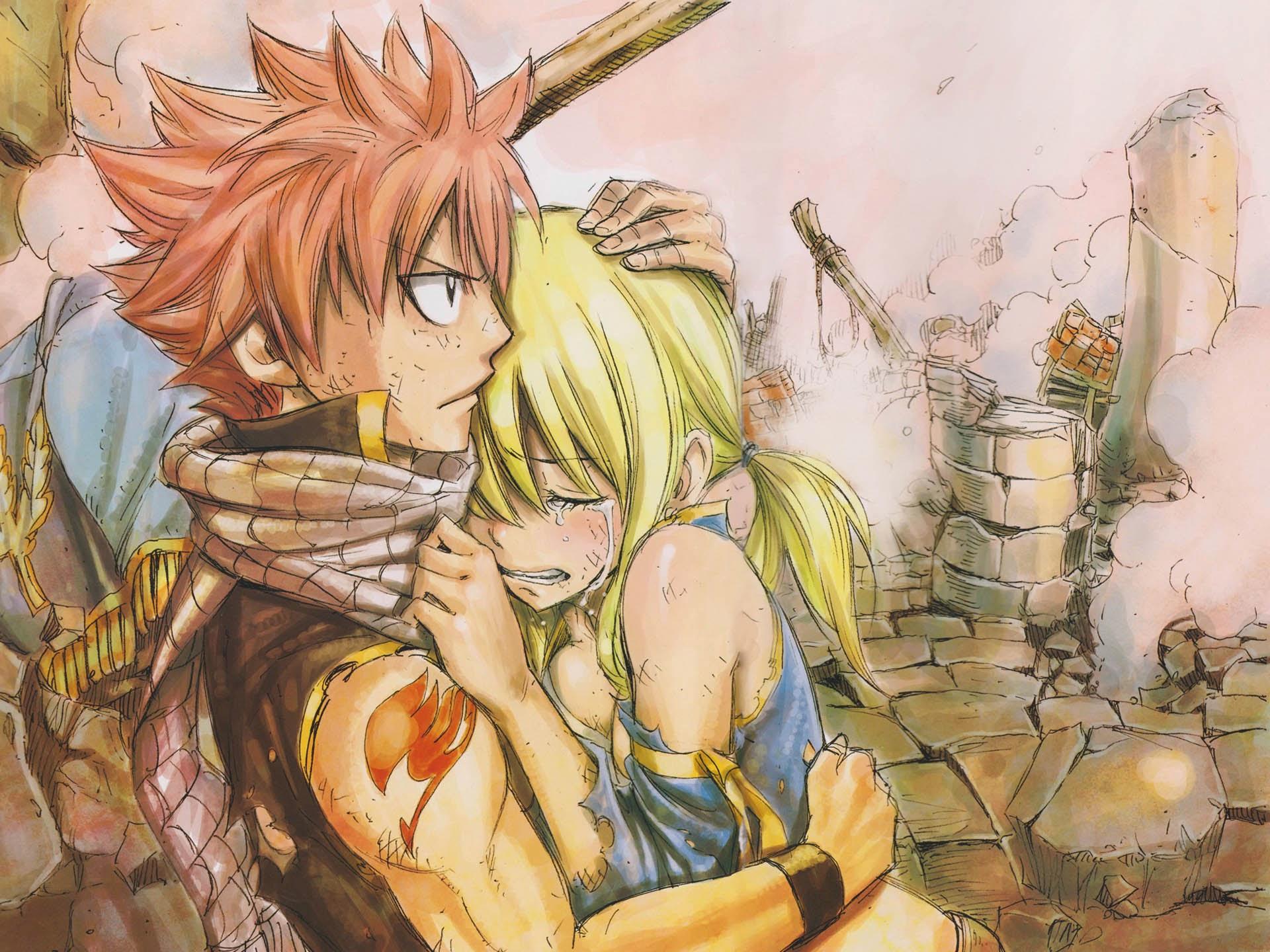 Anime hankering sad anime - Fairy tail natsu x lucy ...