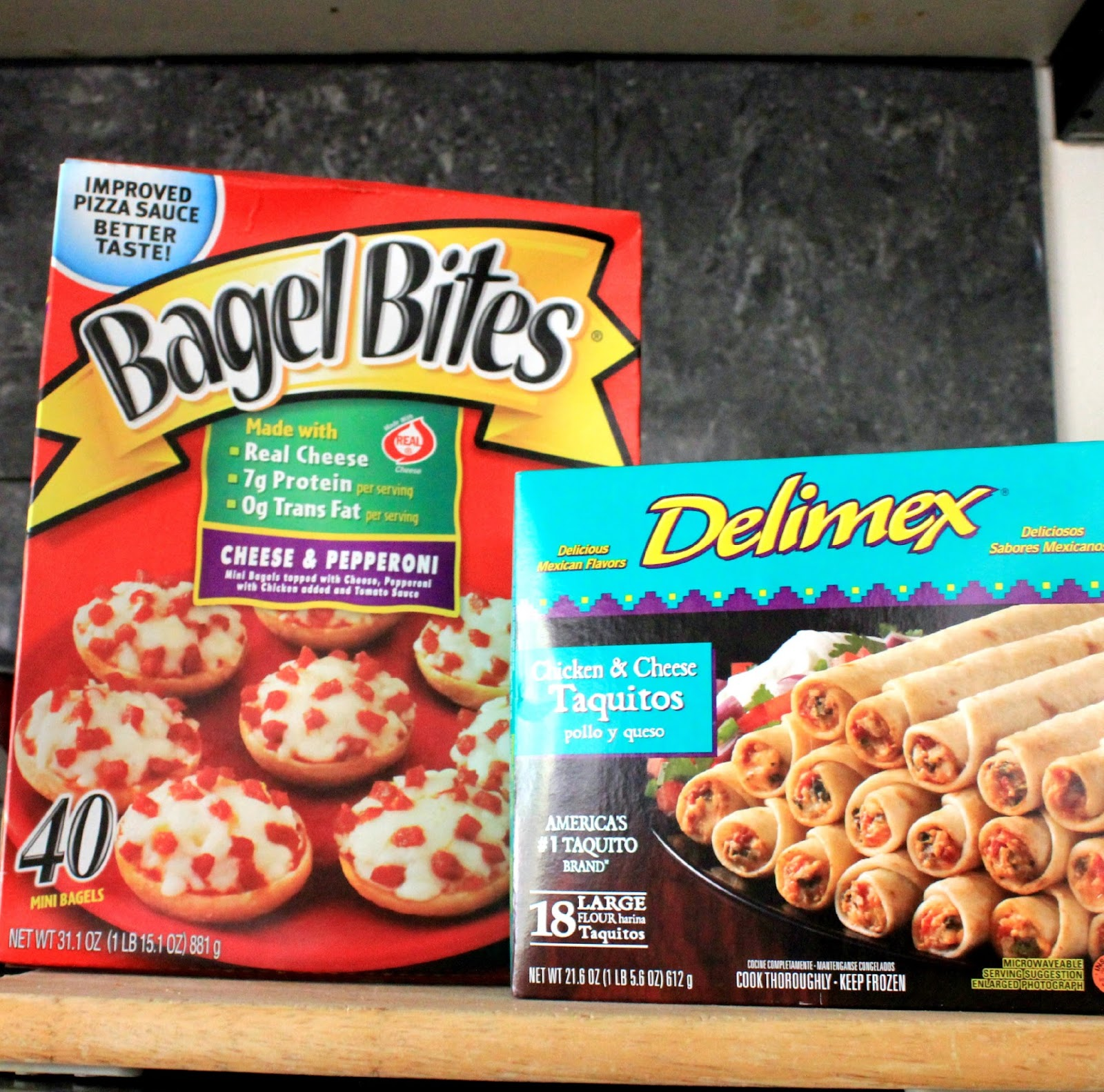 Bagel Bites and Delimex are great #AfterSchoolSnacks #shop