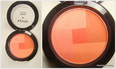 blush laranja nyx love