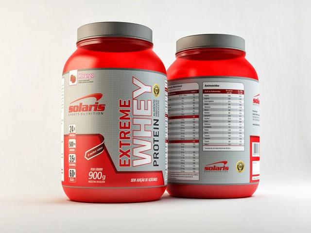 Extreme Whey Protein, da Solaris Sports Nutrition. Foto: Reprodução