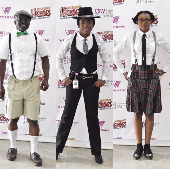 Photos from wema bank 39 old school 39 day celebration ebals Fashion and style school in nigeria