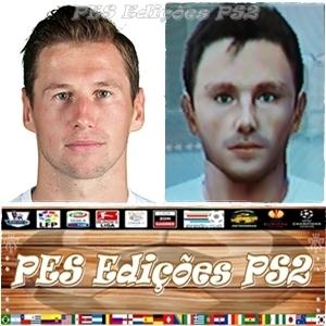 Krychowiak (Sevilla) e Polonia PES PS2