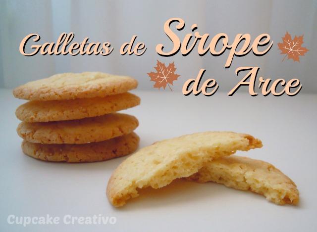 Galletas de Sirope de Arce (Mapple Syrup, Canada)