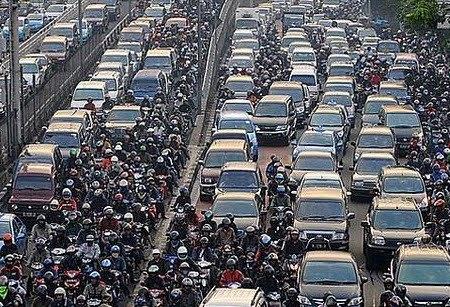 Wajah Kota Jakarta - Macet